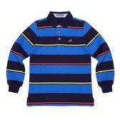 『小鱷魚童裝』條紋POLO衫(10號~18號)530101