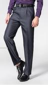 男士西裝褲寬鬆商務正裝中青年免燙直筒休閒褲加大碼西褲男裝褲子