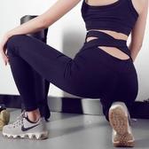 百姓公館 瑜伽健身褲-瑜伽褲彈力高腰外穿運動緊身褲速干打底褲