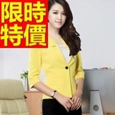 OL套裝(短袖裙裝)-商務面試造型韓版職業制服3色54h22【巴黎精品】