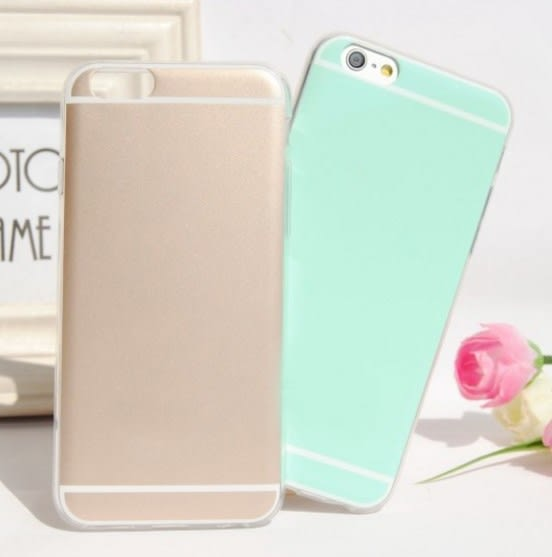 [24hr 火速出貨] 蘋果 iphone 6/6 Plus 馬卡龍閃粉 全包 珠光閃粉 保護套 蘋果 iphone5 硬殼