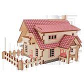 兒童木質拼圖立體3d仿真玩具模型男孩子益智力拼裝積木制頭6-8歲限時八九折