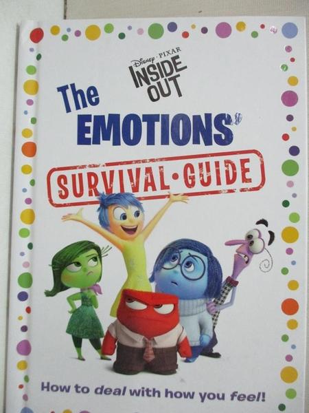【書寶二手書T6/少年童書_IKE】The Emotions' Survival Guide_Joy/ Sadness/ Disgust/ Fear/ Anger