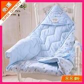 新生兒包被純棉初生嬰兒抱被春秋冬季加厚款被子外出襁褓寶寶用品
