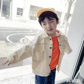 男童牛仔外套潮夏季小童裝2019時尚韓版新款中大童兒童牛仔衣洋氣cp2285【甜心小妮童裝】