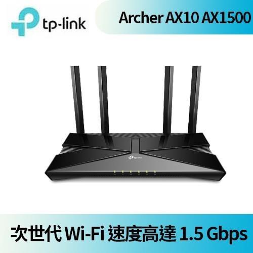 TP-LINK Archer AX10(US) AX1500 Wi-Fi 6 無線路由器 【本月回饋↘省$300】