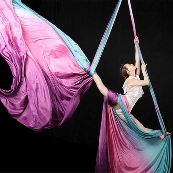 瑞爻空中瑜伽專業高空反重力空中瑜伽吊床瑜伽吊床家用器材伸展帶ATF 美好生活