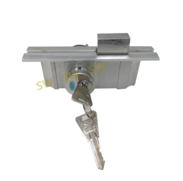 LM031 富士鎖 單面鎖144MM 單面平鎖 SFC維福鎖 隱藏式門鎖 隱藏鎖 嵌入式門鎖 WF維福鎖 鋁窗鎖