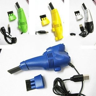 【超取299免運】USB迷你吸塵器 電腦吸塵器/ 附LED燈