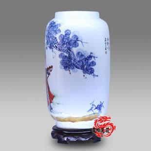 景德鎮陶瓷器 名作鍾馗醉酒