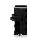 【預購】B-Line Boby Storage Mod.L H94.5cm 巴比 多層式系統 收納推車 - 特高尺寸 (五抽屜收納) 黑色