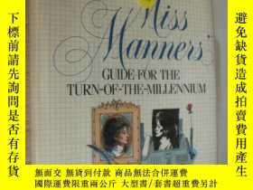 二手書博民逛書店Miss罕見Manners Guide for the Turn