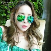 墨鏡男女蛤蟆太陽眼鏡潮防紫外線【步行者戶外生活館】