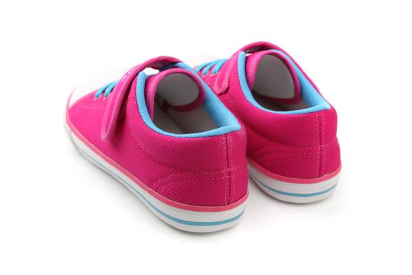 休閒鞋 童鞋 桃紅色 中童 no203