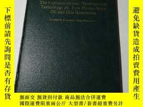 二手書博民逛書店The罕見Exploration and Development Technology of Low Permea