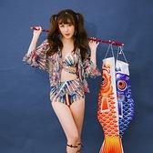 泳衣(三件式)-比基尼-日式風格性感精選女泳裝-73mb44【時尚巴黎】