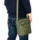 男士休閒單肩斜背包防水尼龍牛津布背包時尚旅游 【米娜小鋪】