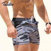 TADDLEE潮游泳褲平角 男士泳衣速乾五分寬鬆時尚大碼性感溫泉沙灘 創想數位