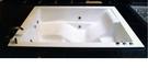【麗室衛浴】國產 雙人壓克力造型浴缸 H-278-3 170*120*60CM