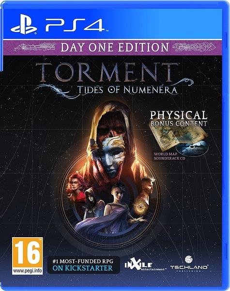 PS4 新異域鎮魂曲:遺器之潮(含4特典) 首日版英文版 Torment: Tides of Numenera