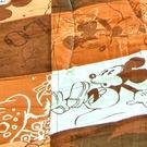1入-迪士尼精梳棉童毯涼被 - 米老鼠咖橘