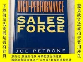 二手書博民逛書店Building罕見The High-Performance Sales ForceY385290 Joe P