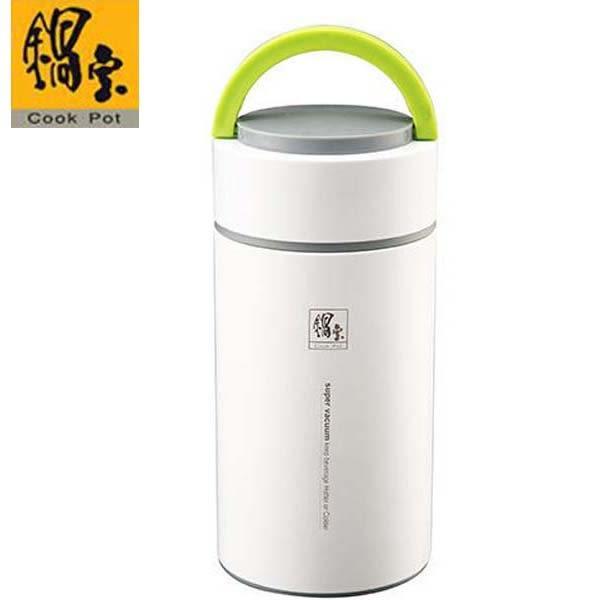 鍋寶 不鏽鋼手提燜燒罐1100ml (珠光白)SVP-1100-G
