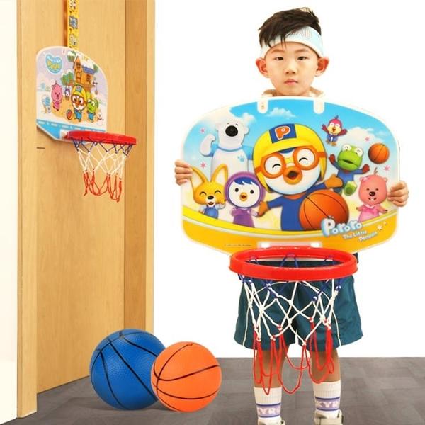 籃球架 兒童籃球架免打孔室內掛式家用投籃框筐寶寶可升降3歲男孩玩具  ATF  喜迎新春
