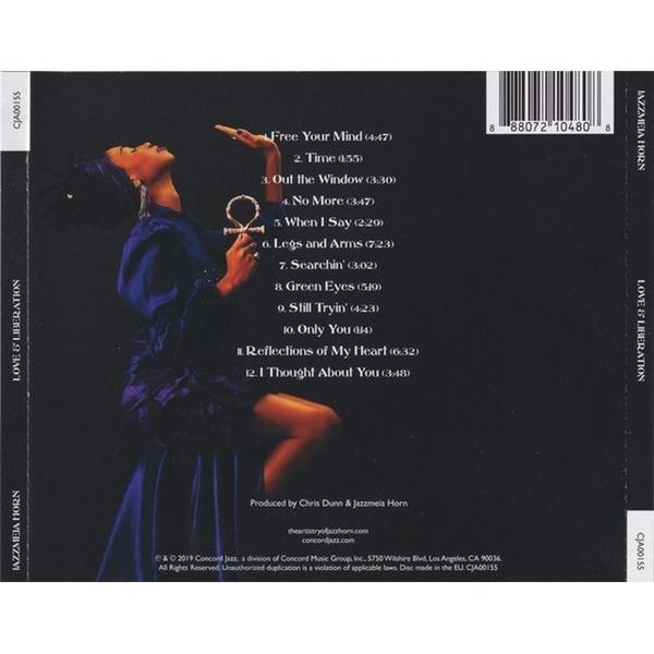 【停看聽音響唱片】【CD】 潔絲米雅.虹 / 愛與自由
