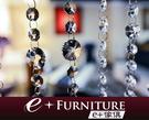 『 e+傢俱 』CB7~水晶玻璃珠簾/門...