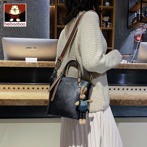 斜背包 北包包小包包女包新款秋冬時尚斜背手提側背水桶包大容量百搭  新品