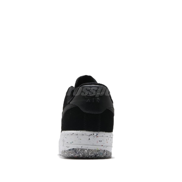 Nike 休閒鞋 Wmns Air Force 1 Crater 黑 灰 女鞋 AF1 回收再生材質融入 運動鞋 【ACS】 CT1986-002