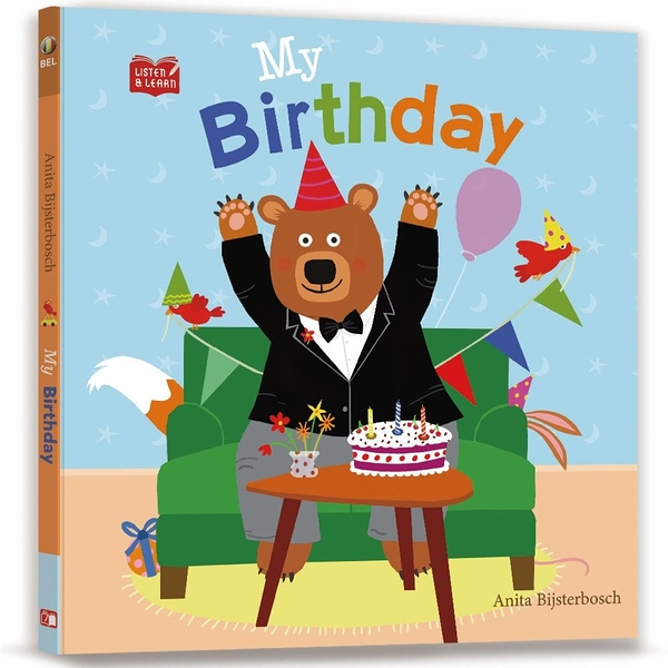 【Listen & Learn Series】My Birthday(附美籍教師朗讀MP3)