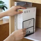 書本收納置物書立簡約小書架辦公室桌面書檔書立架閱讀書靠