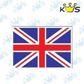 【收藏天地】防水防曬*安全帽 汽機車 萬用貼-英國國旗