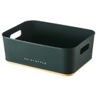 收納框SK218 化妝品桌面收納塑料儲物收納筐化妝刷方形小盒子文具置物架