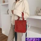水桶包 秋冬復古小包包女2020新款潮韓版百搭斜挎包大氣時尚手提包水桶包 零度3C