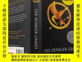 二手書博民逛書店the罕見hunger games : 饑餓遊戲..,Y200392