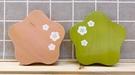 【震撼精品百貨】日本精品百貨~日本造型花型木製杯墊-2入*17128