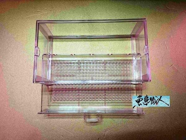 【抽屜式滴流盒】【便當盒】【30*17*9.5cm 】【1入】多層式滴流專用 過濾槽 魚事職人