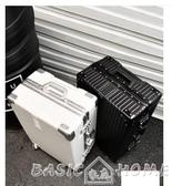 行李箱ULDUM旅行箱行李箱鋁框拉桿箱萬向輪20女男學生24密碼皮箱子28寸 BASIC HOME LX