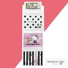 日本進口 Hello Kitty 三格縱型壁掛袋(收納箱/掛袋/置物袋/雜物收納/收納袋)【H81214】