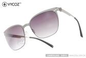 VYCOZ 太陽眼鏡 BUNKER SILSL (銀) 薄鋼工藝 休閒簡約款 # 金橘眼鏡