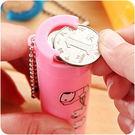 【全館5折】WaBao 雙頭設計彈夾式硬幣存錢罐 收納桶 零錢桶 =D09435=