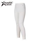 【桃源戶外】Polarstar 兒童排汗│polartec│保暖褲 P13416『白』