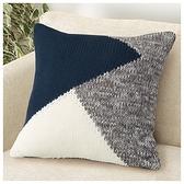 抱枕套 45×45 AT geometrical knitt NITORI宜得利家居