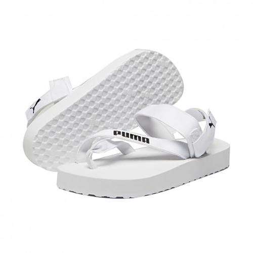 PUMA SUMMERCAT 男女款白色休閒涼拖鞋-NO.37483702