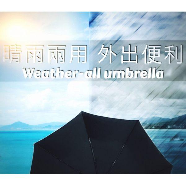 【限量-買一送一】40吋自動黑膠傘-遮光/遮雨_折疊傘 / 晴天雨天一把搞定-自動傘-晴雨傘+2