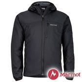 【Marmot】男 Novus 彈性保暖 連帽外套『黑』81240 戶外 登山 防風 防潑水 透氣 冬季 禦寒 出國
