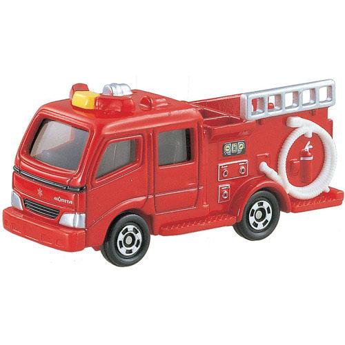 TOMICA NO.041 MORITA紅色消防車_TM041A 多美小汽車